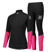Гоночный костюм NONAME ON THE MOVE RACE SUIT 19 WOS BLACK/PINK