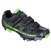 Велотуфли SCOTT MTB Comp Shoe, black/lime green