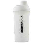 Шейкер Shaker BioTechUSA Wave 600 ml transparent