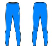 ТЕРМОБЕЛЬЕ KV+ SEAMLESS pants blue 7U105.3