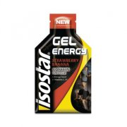 Энергетический гель ISOSTAR GEL Energy Coffein Banana Strawberry 35 г